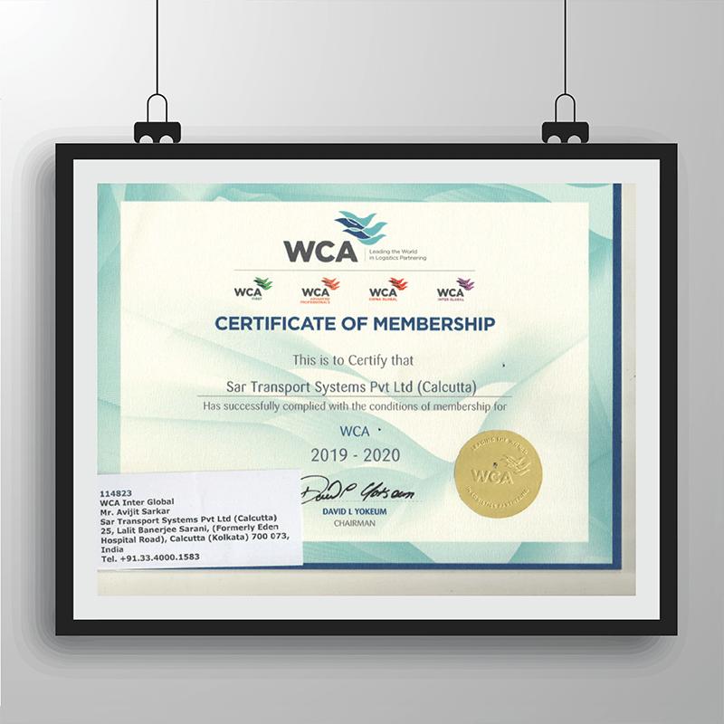 WCA_ Certificate of Membership_ Calcutta