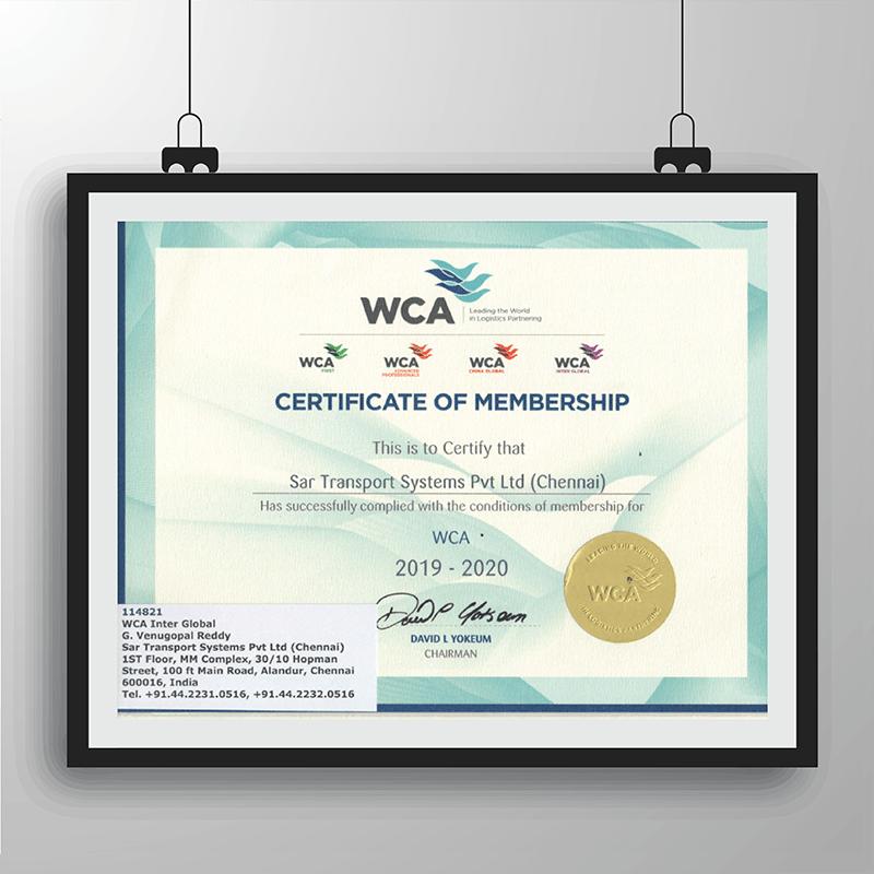 WCA_ Certificate of Membership_ Chennai