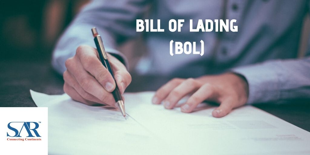 BILL OF Lading (BOL)